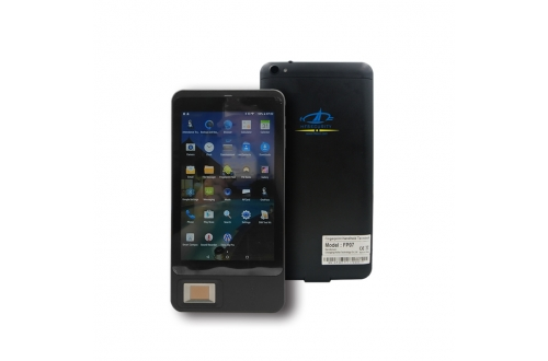 FP07  Android NFC Fingerprint Tablet Device with Barcode Scanner