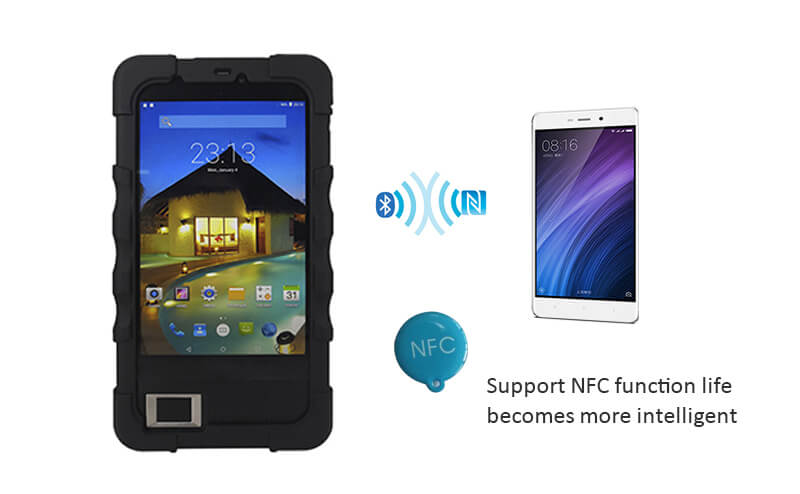 FP07 Android NFC Fingerprint Reader
