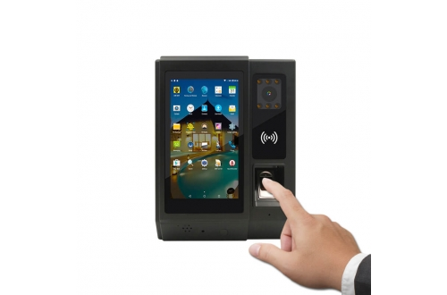 A5 Biometric Android 6.0 4G  Fingerprint Time Attendance Access Controller with Camera