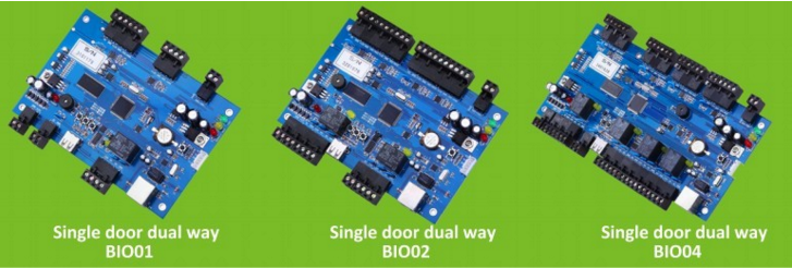 2 Doors Fingerprint RFID Access Control Security