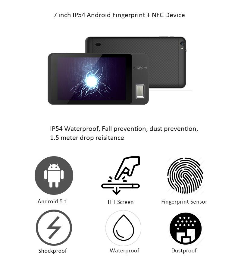 NEW FP07 Fingerprint Time Attendance With Smart Card Reader Function