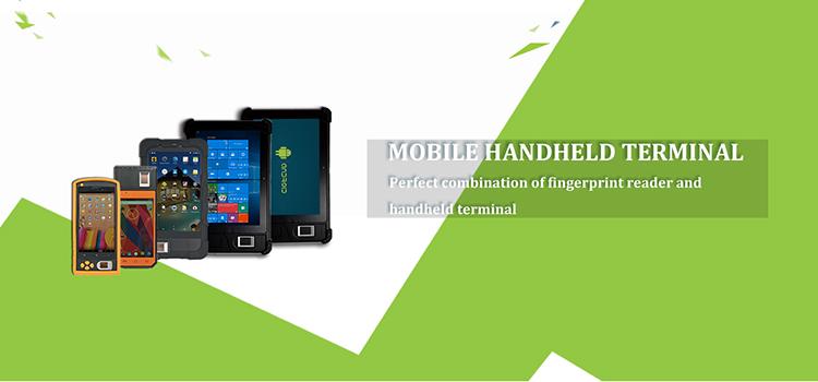 biometric handheld tablet protable mobile attendance