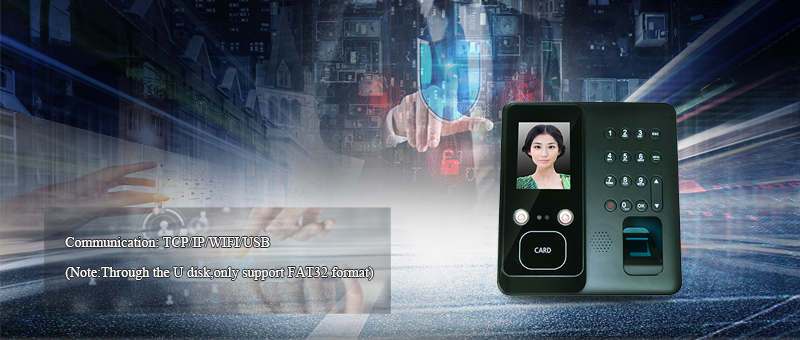 Affordable high capacity facial fingerprint attendance machine