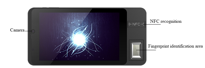 biometric fingerorint tablet