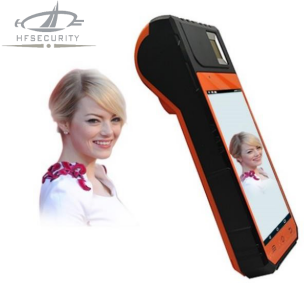 portable biometric authentication handheld terminal
