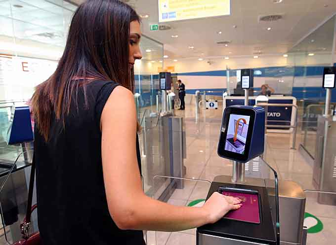 biometric airport solution