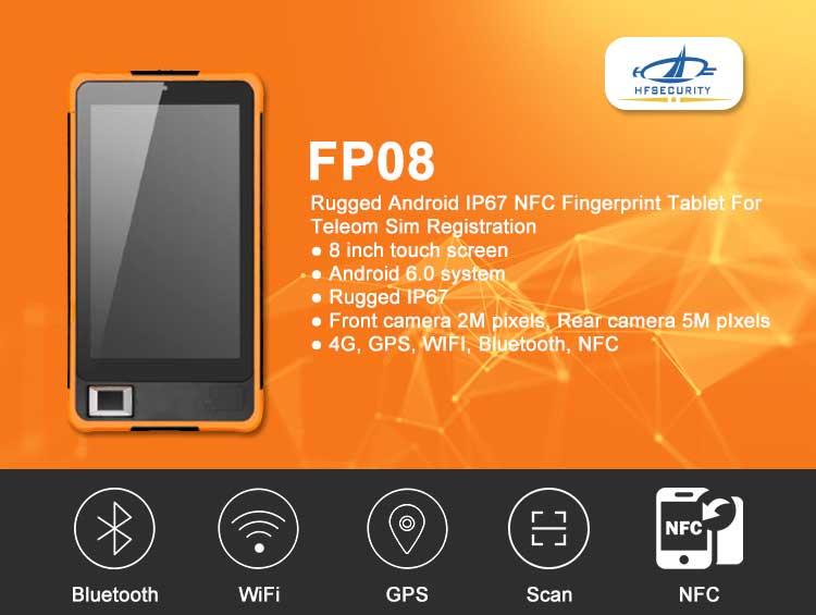 rugged fingerprint tablet
