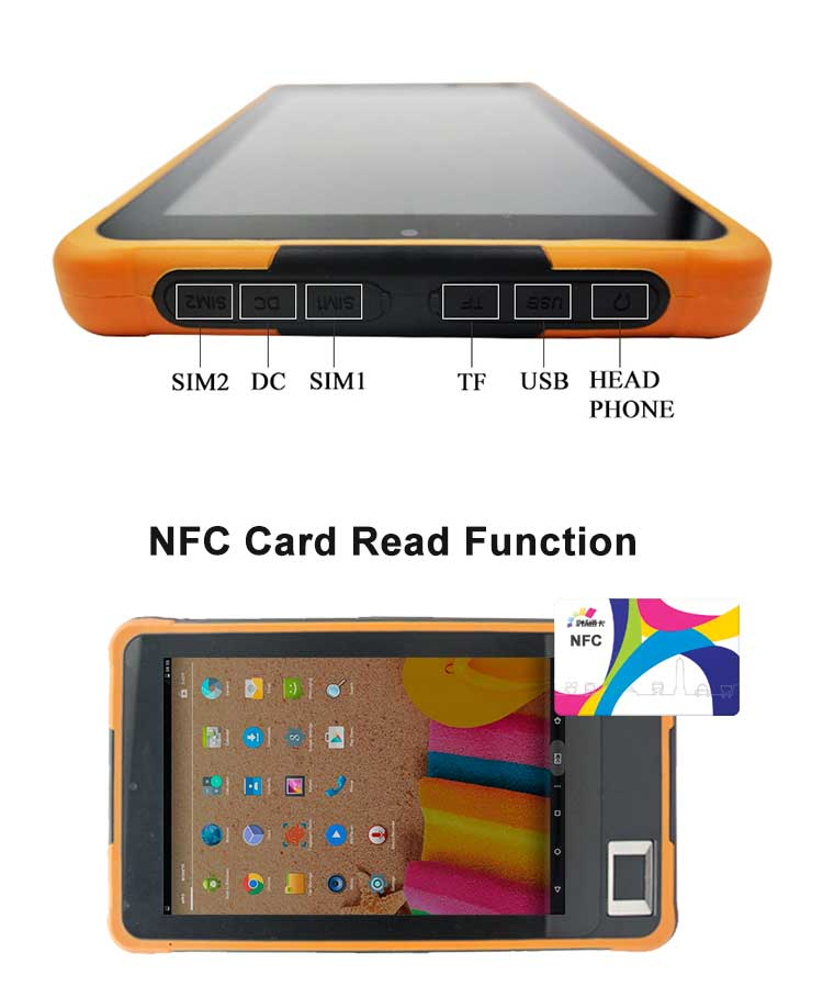 NFC card reader