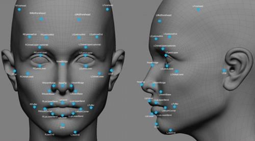 china facial recognition scanner