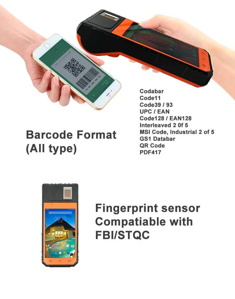 fingerprint POS Terminal