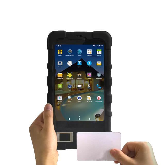 Fingerprint tablet