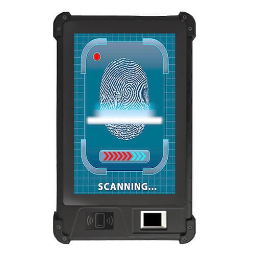 Biometric tablet