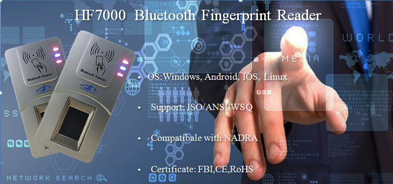 NFC Fingerpirnt Scanner Manufacturer