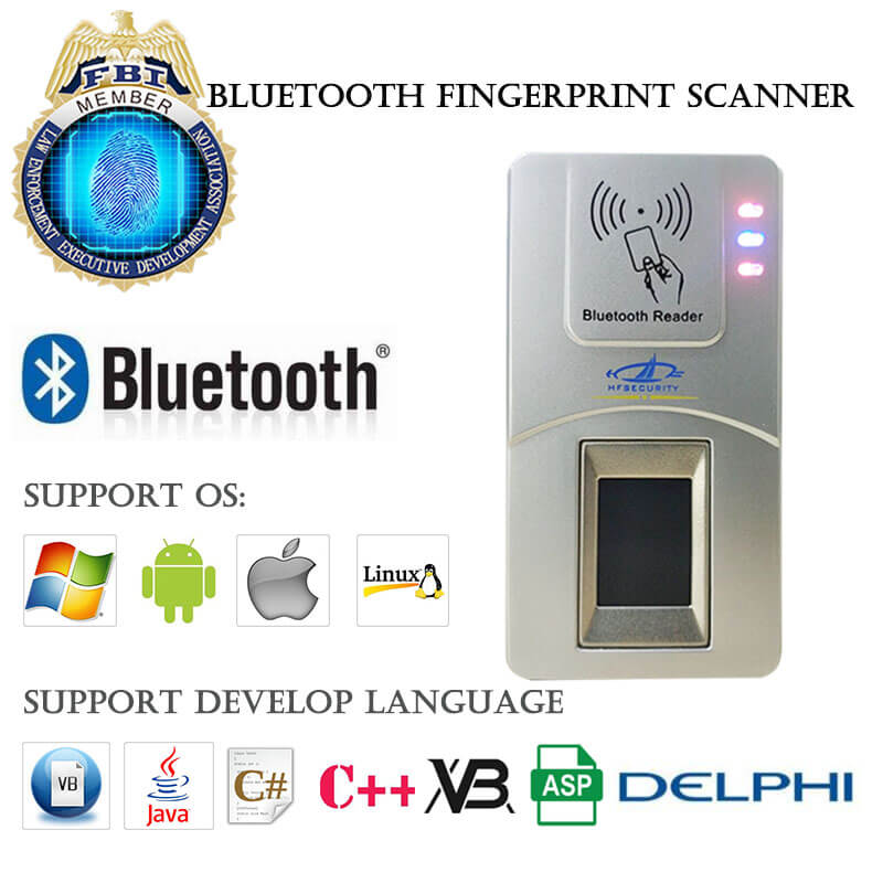 china bluetooth fingerprint scanner manufacturer
