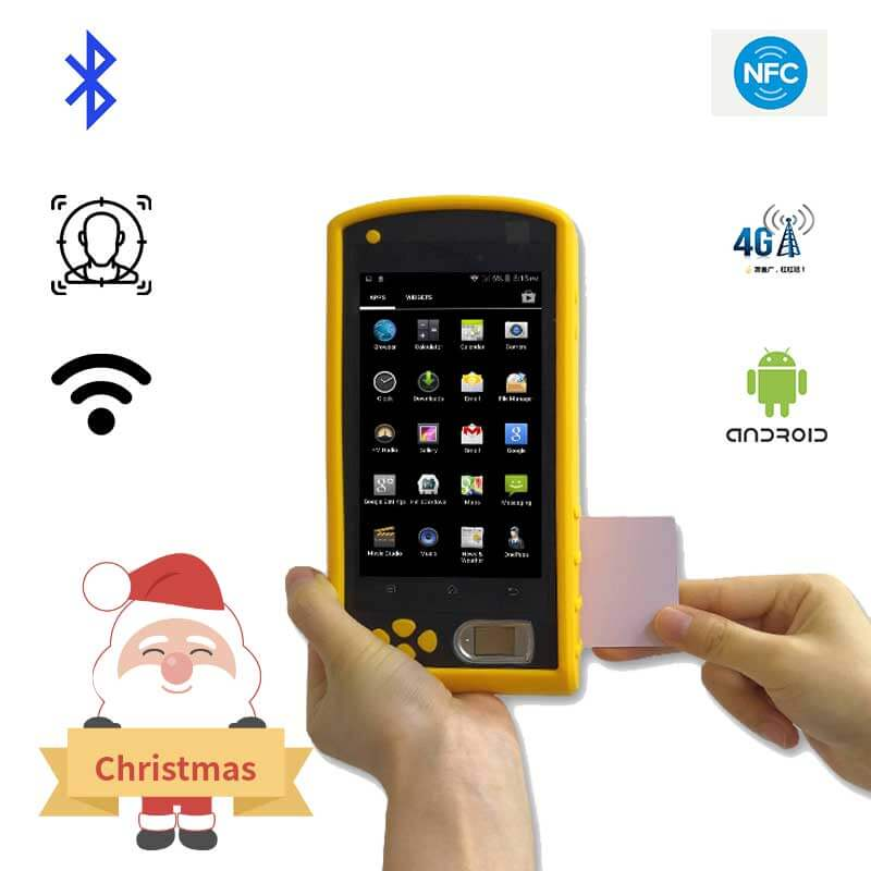 FP08 Android Handheld Biometric Device Manufacturer