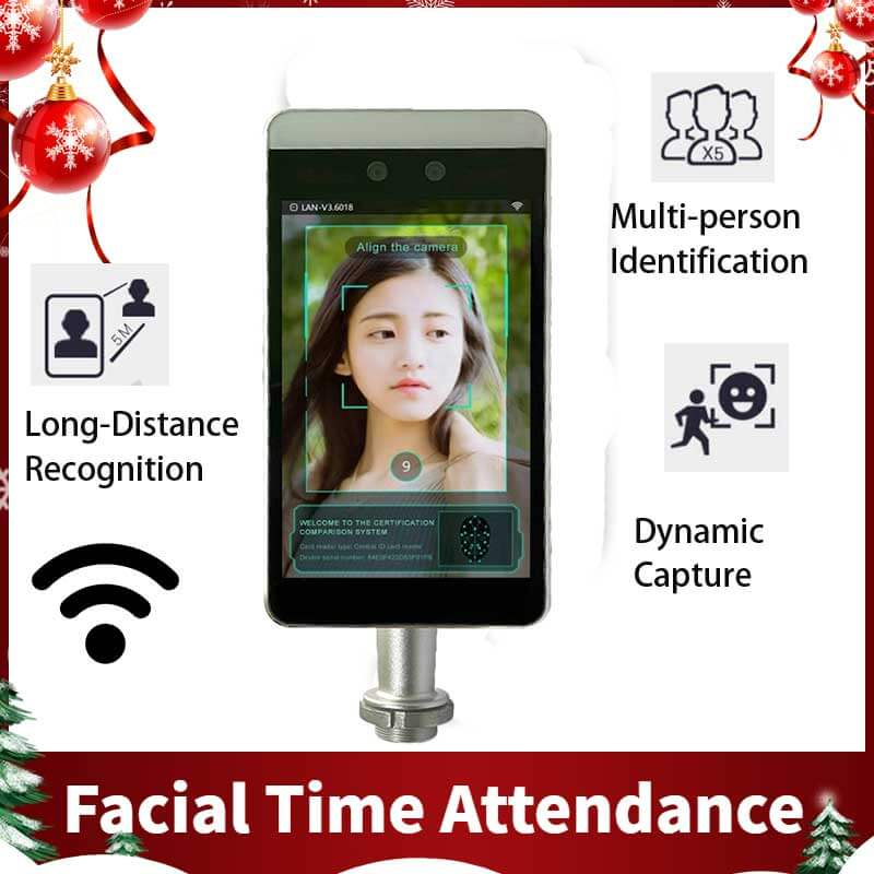 china facial recognition time attendance system