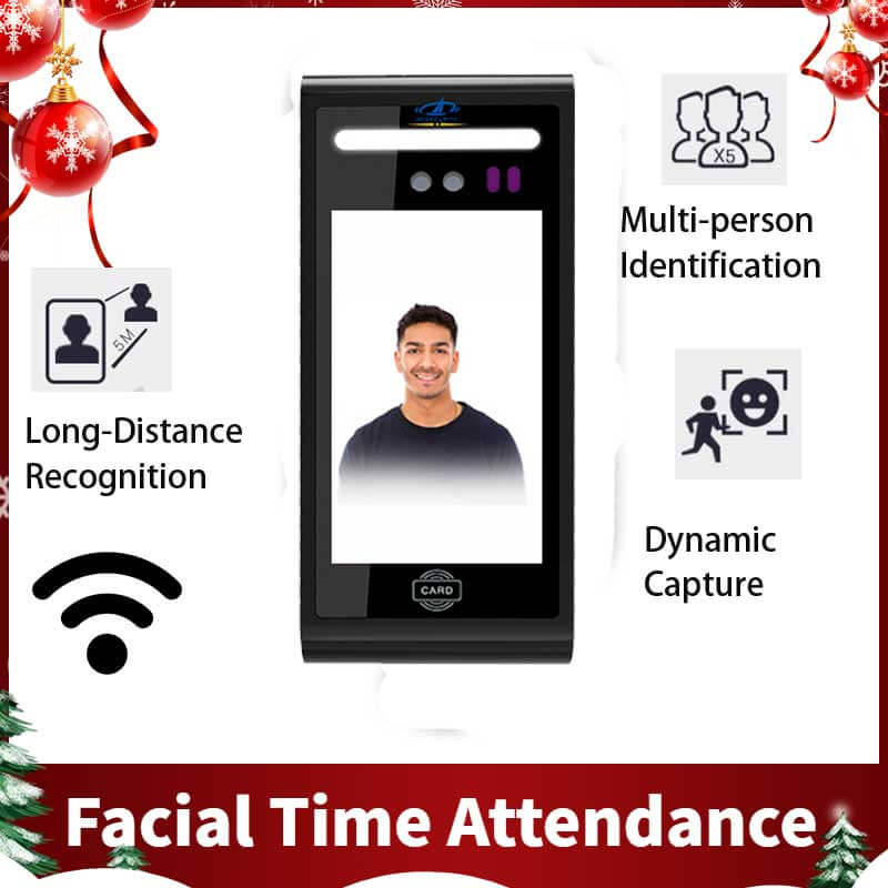 china facial recognition time attendance system factory