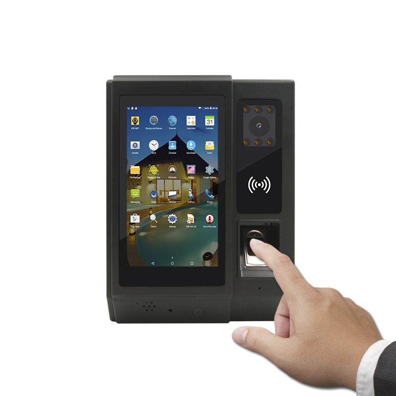 facial fingerprint attendance system