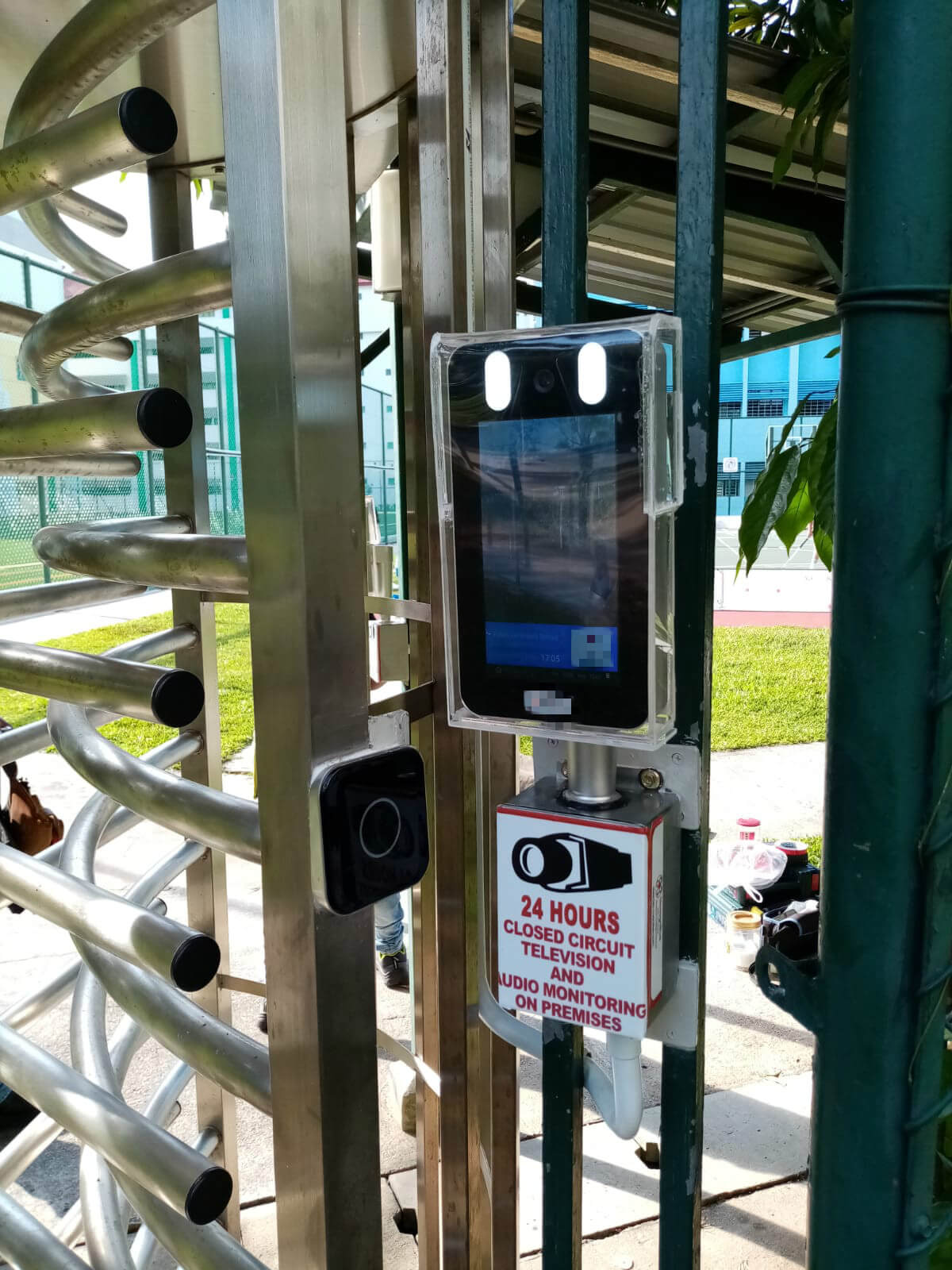 face recognition access control