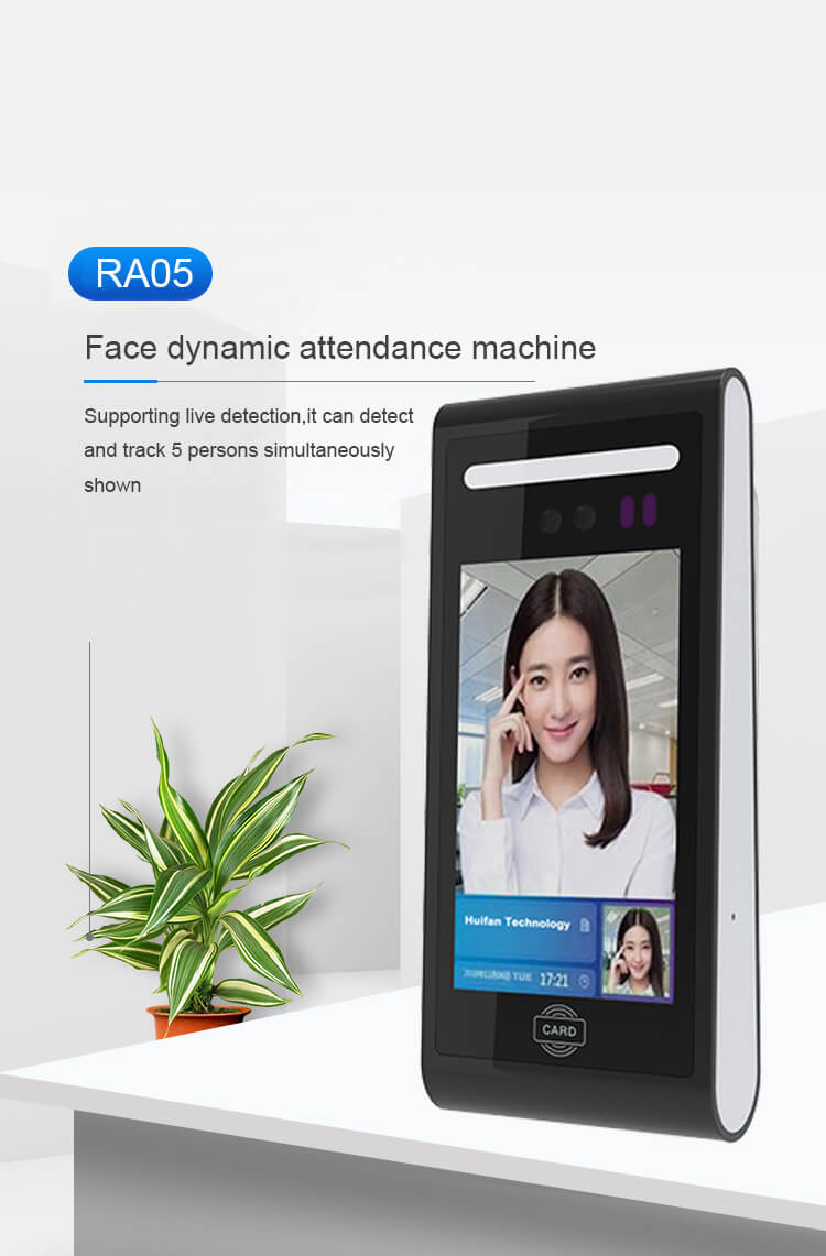RA05 Dynamic Facial Time Attendance and Access Control