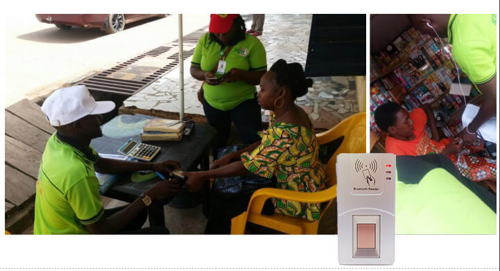 fingerprint Scanner in Nigeria Tax Registration