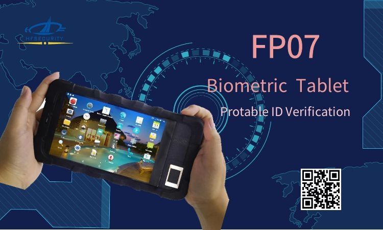 7-inch Rugged Biometric Fingerprint Tablet
