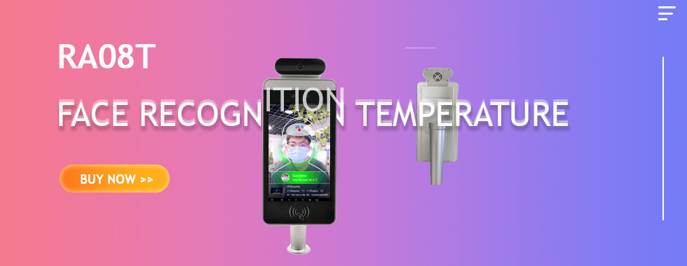 RA08T Face Recognition Temperature HFSecurity