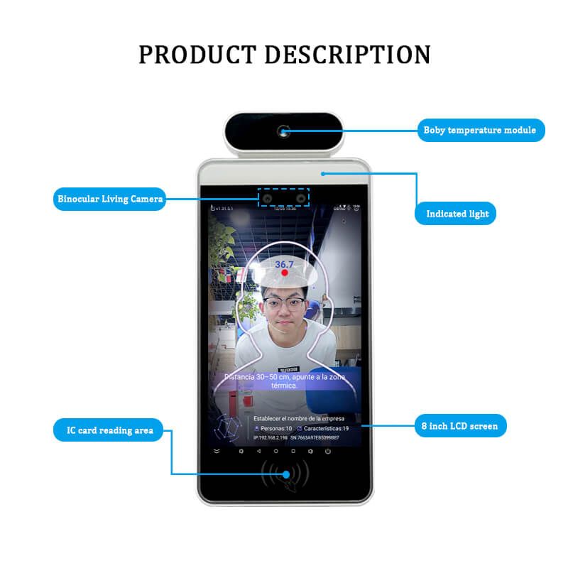 RA08T Face Recognition Temperature  Introduction