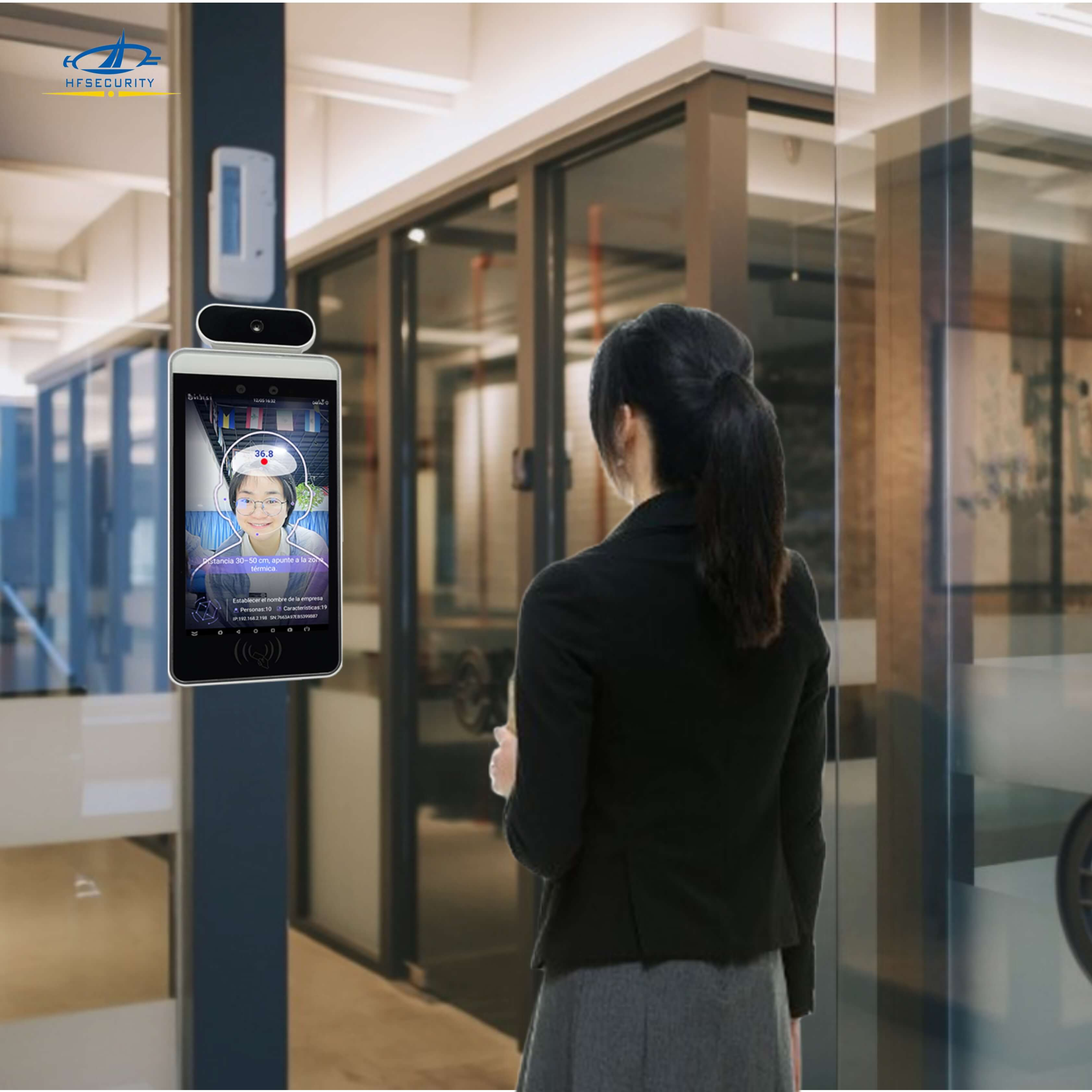HFSecurity Online Face Recognition Time and Attendance