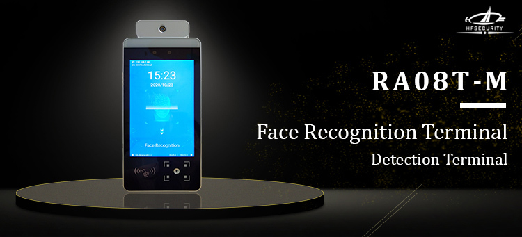 HFSecurity RA08T-M Dual Cammer Dynamic Face recognition Time Attendnace