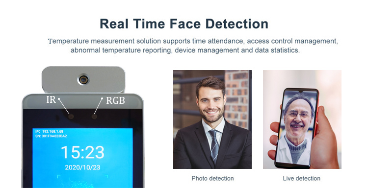 HFSecurity RA08T Dynamic Face Recognition