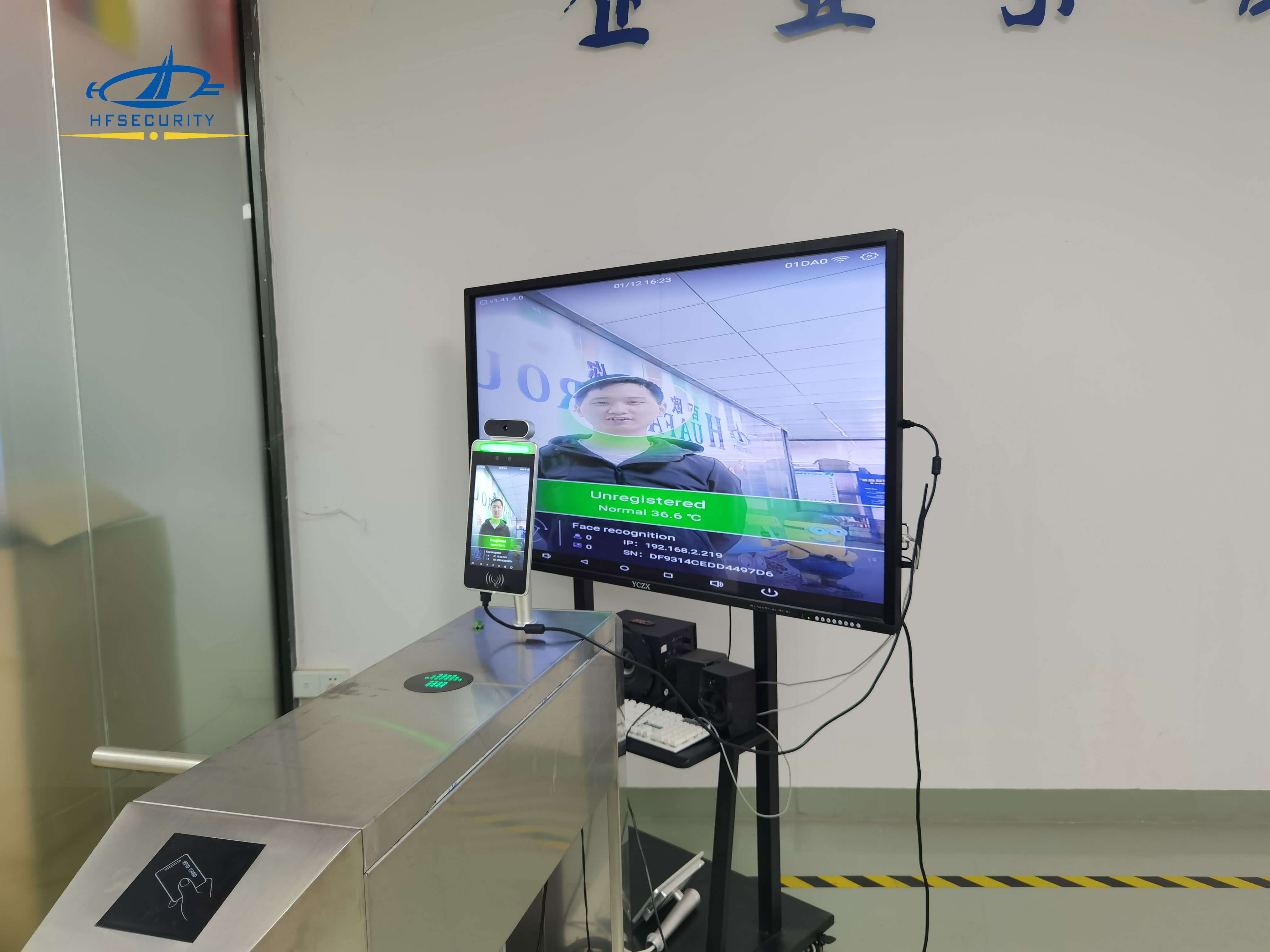 RA08T Face Recognition with HDMI Function