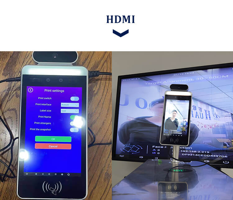 HFSecurity RA08T HDMI Face Recognition Device
