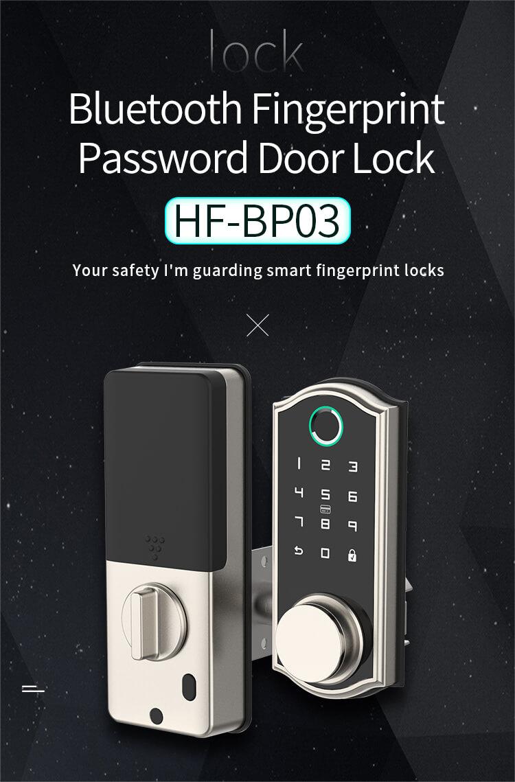 FSecurity BP03  Biometric Remote Control Bluetooth Fingerprint Door Lock