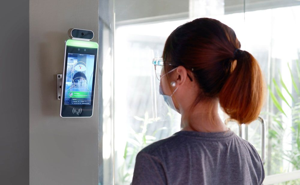 HFSecurity Face Time Attendance system