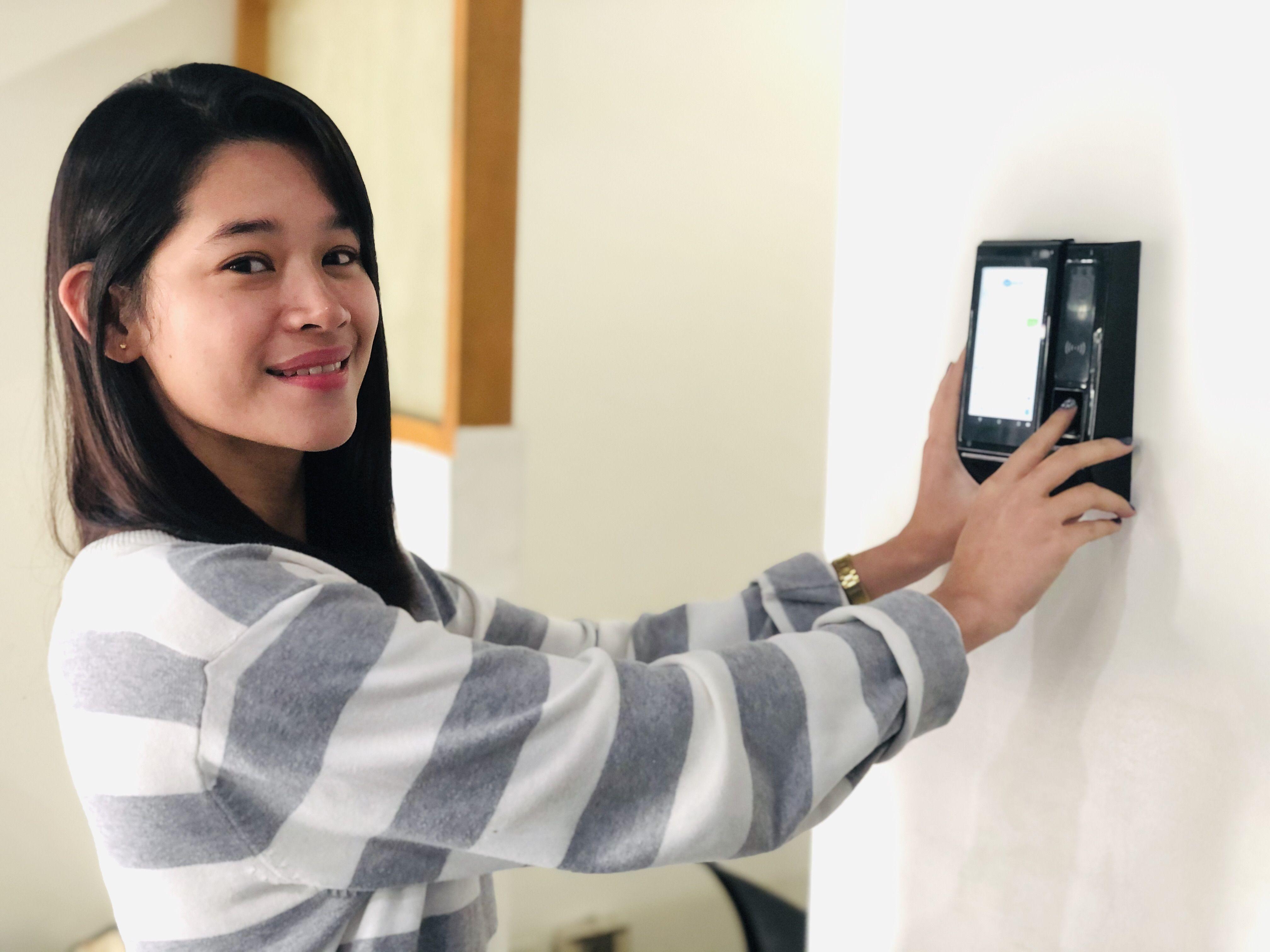 Biometric Fingerprint Face Recognition Time Attendance Access Control