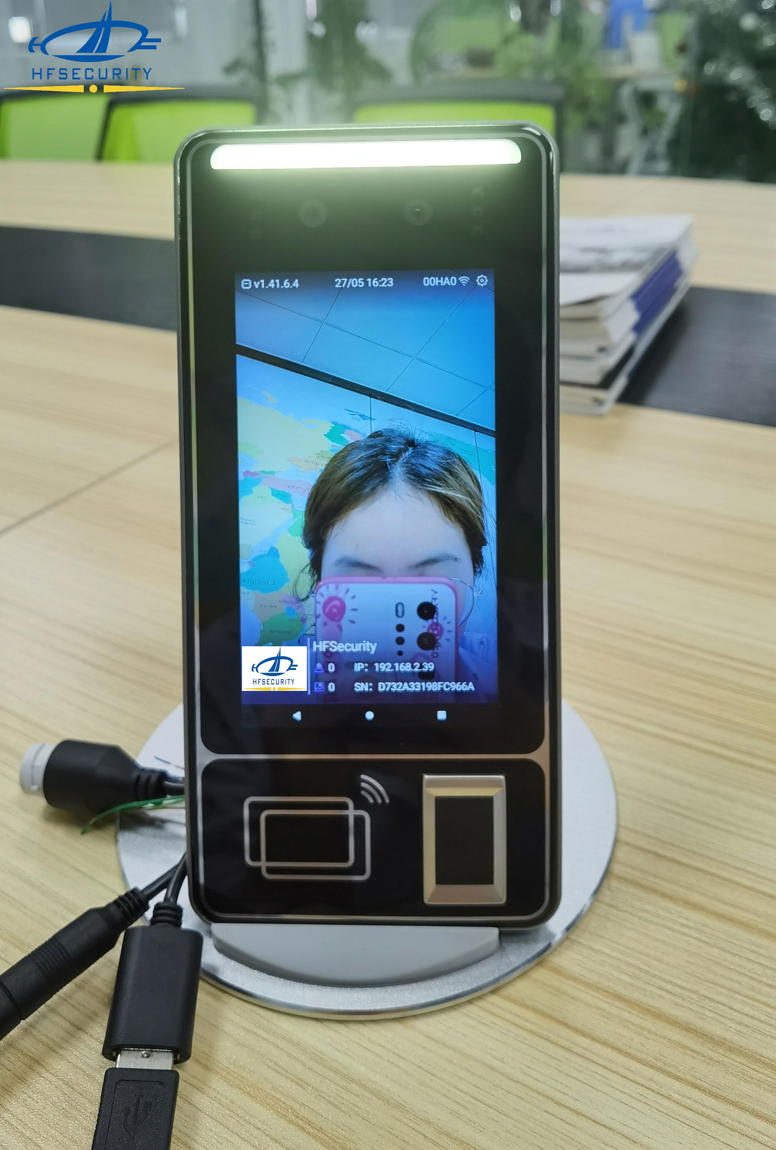 HFSecurity FR05 5 inch Fingerprint Face Device