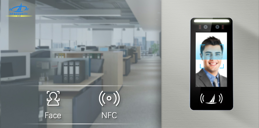 HFSecurity 5 INCH Face NFC Recognition Device