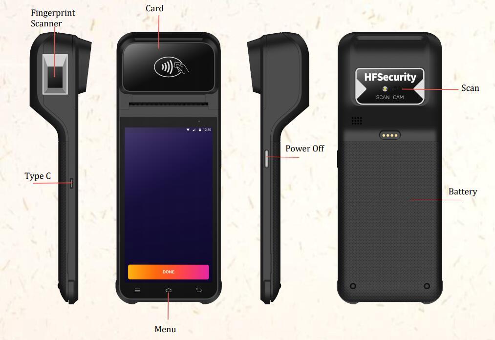HFSecurity POS Terminal