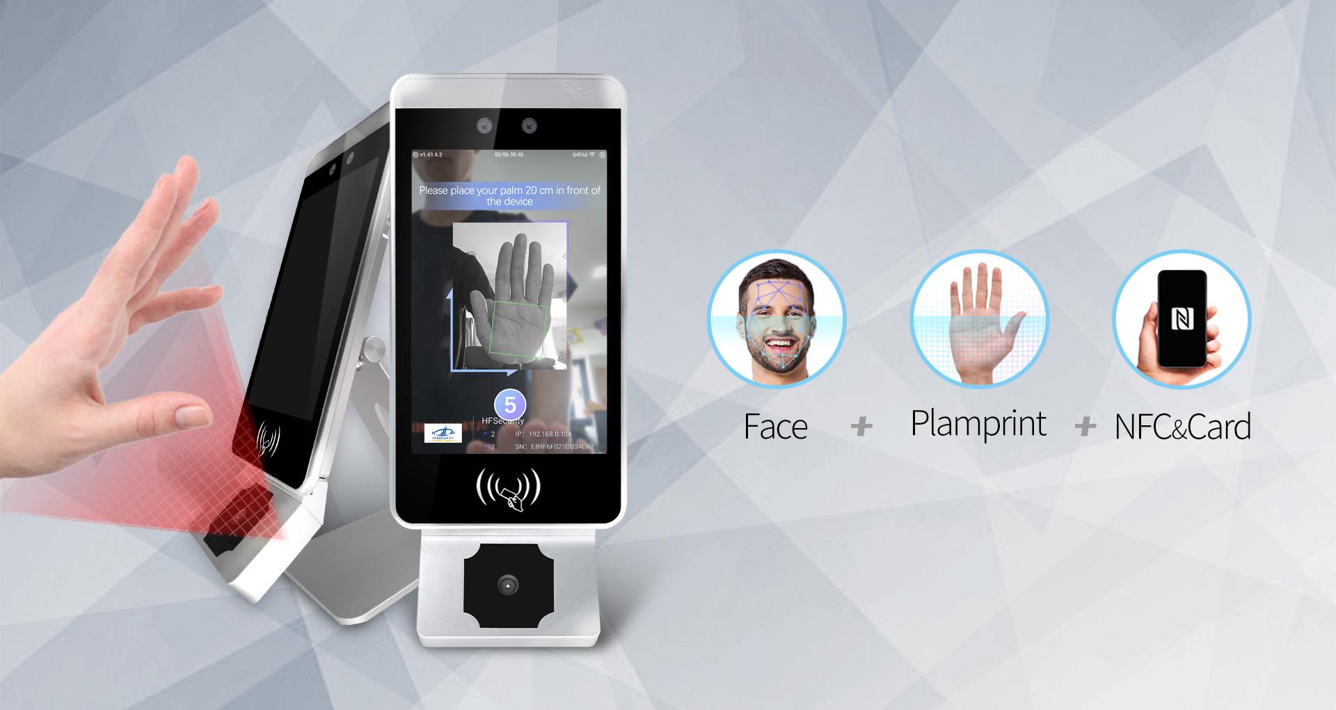 HFSecurity Biometric Face Recognition Palme Recognition