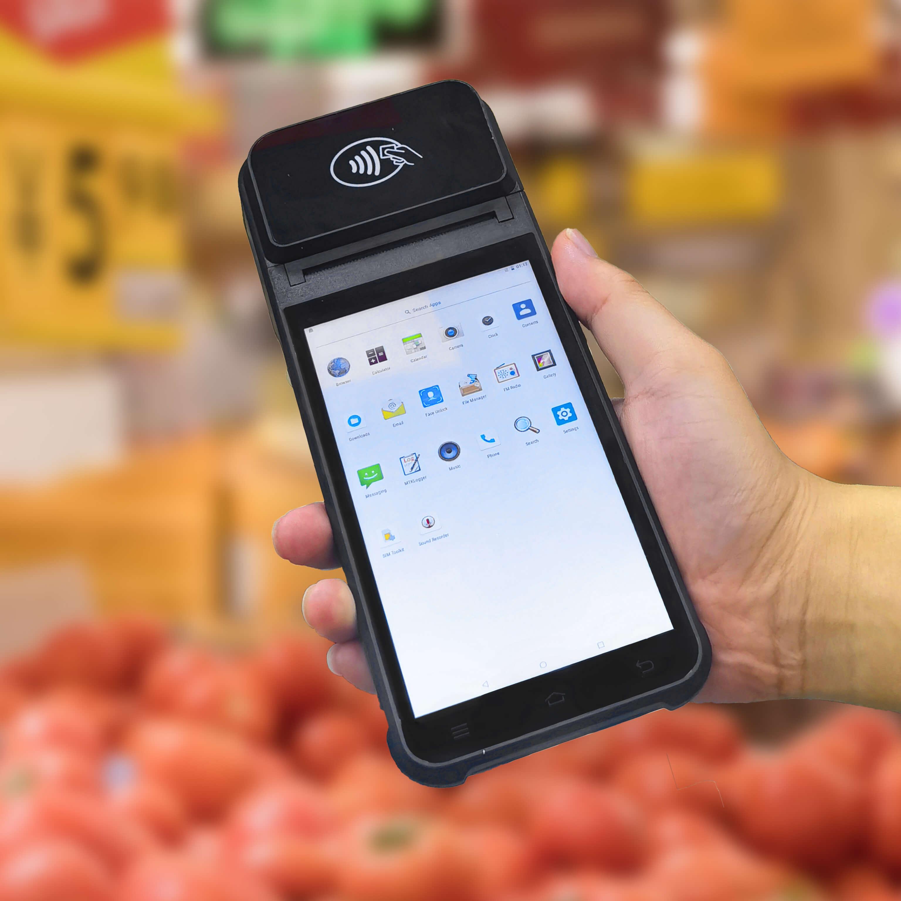 Biometric Fingerprint Scanner for Financial Service