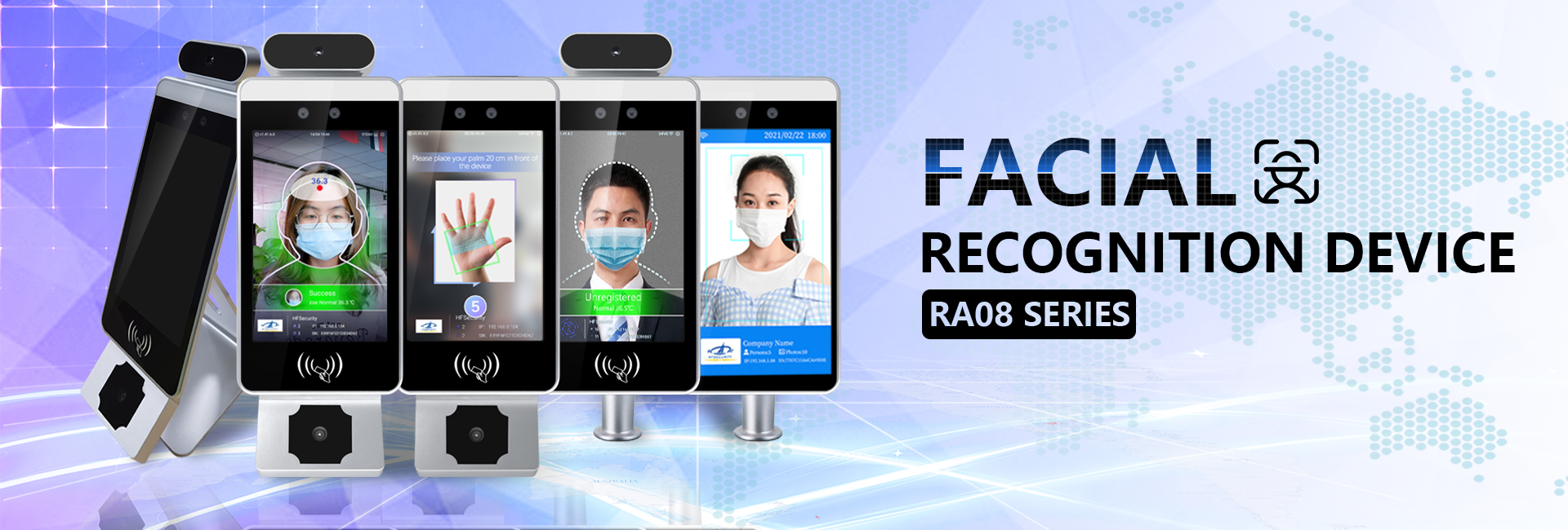 HFSecurity Biometric Face Recognition Device Factory