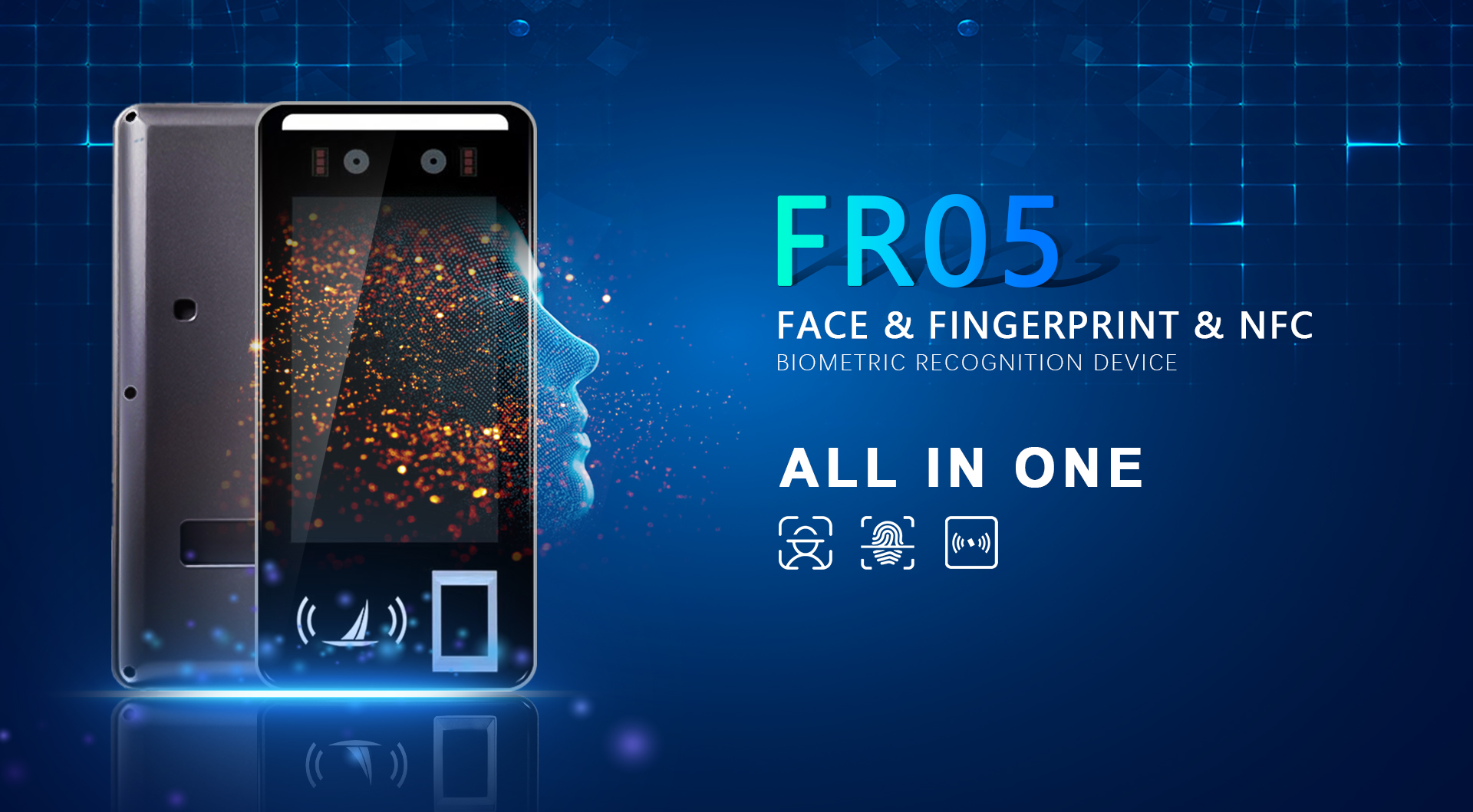fingerprint time attendance machine biometric supplier