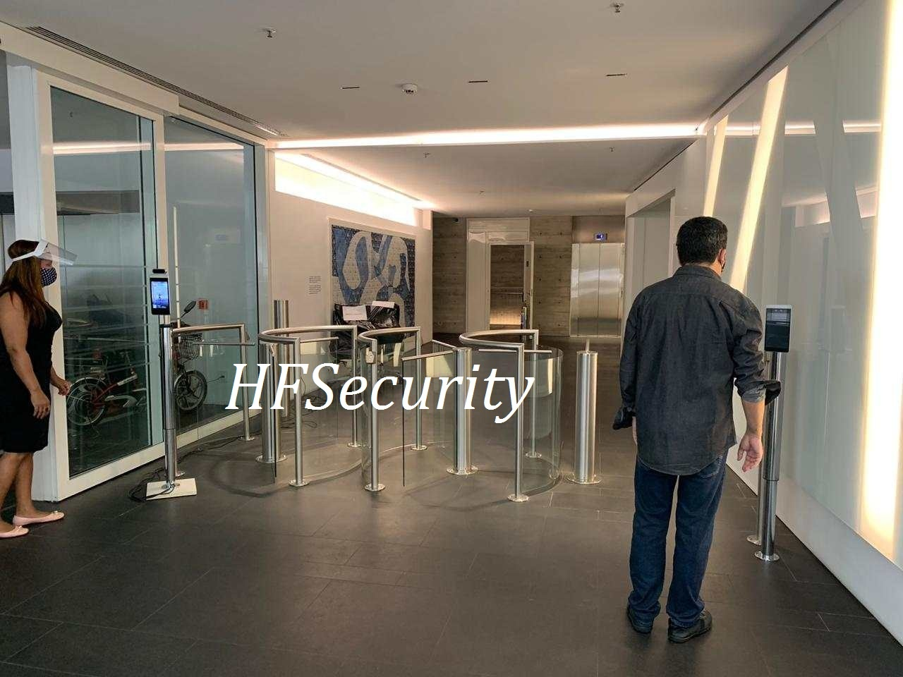HFSecurity RA08T Face Recognition building