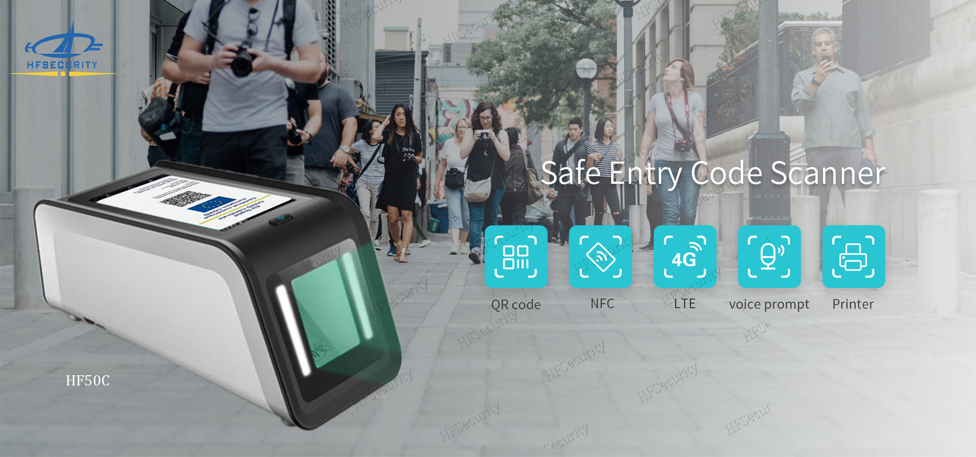 HFSecurity Smart Android Health Code Device
