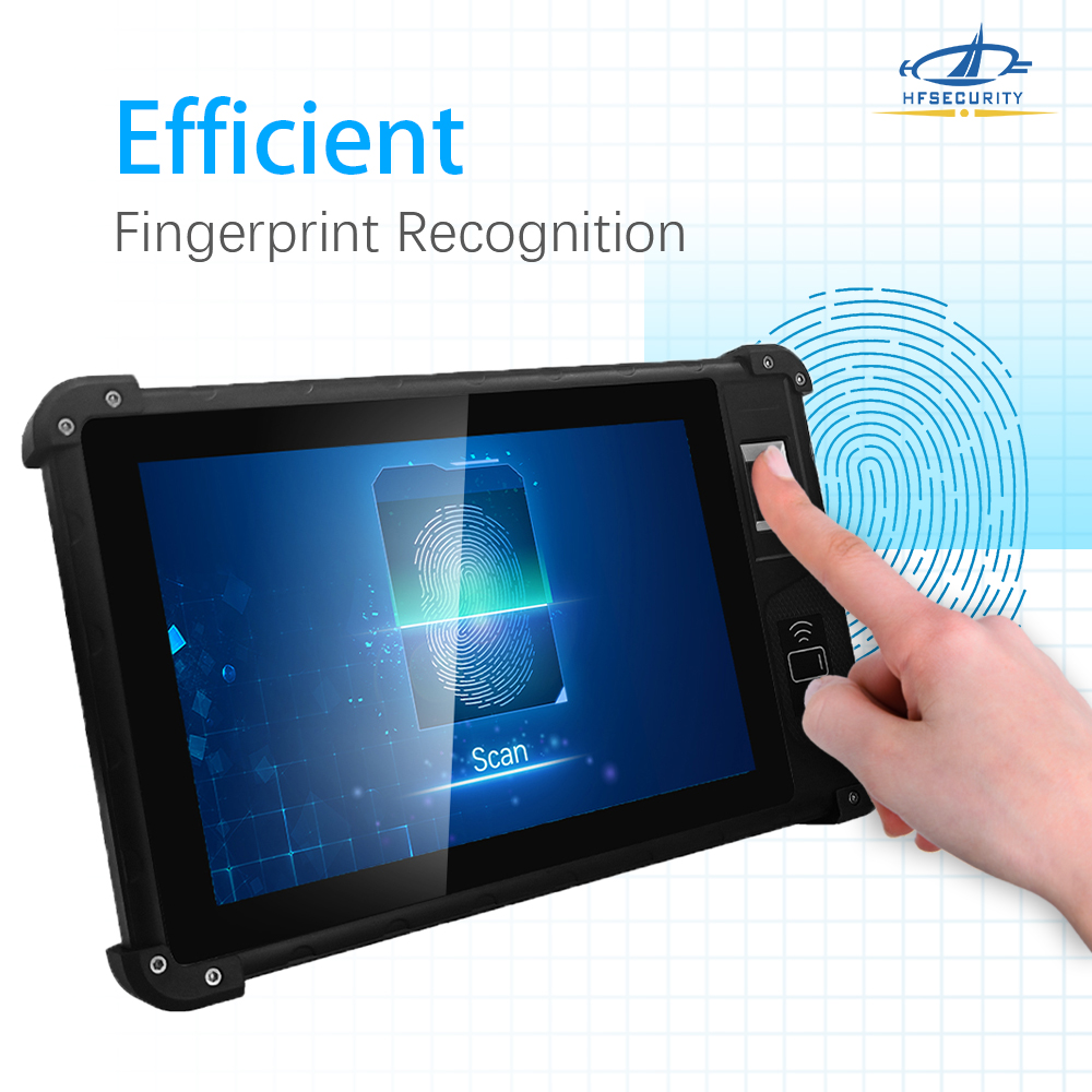 HFSecurity 8 inch biometric Android Tablet
