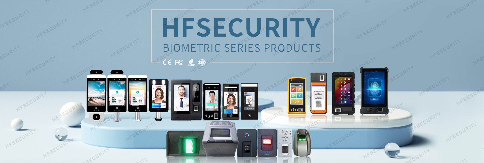 HFSecurity 8 inch Biometric Tablet Device