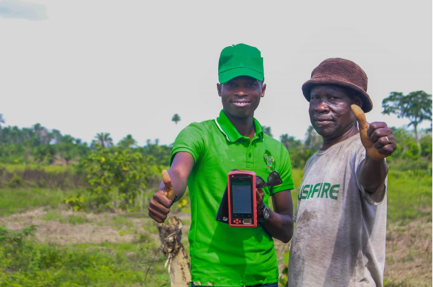 HFSecurity Farming Biometric Tablet Device