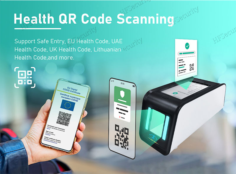 HFSecurity Android Health Code Scan Device