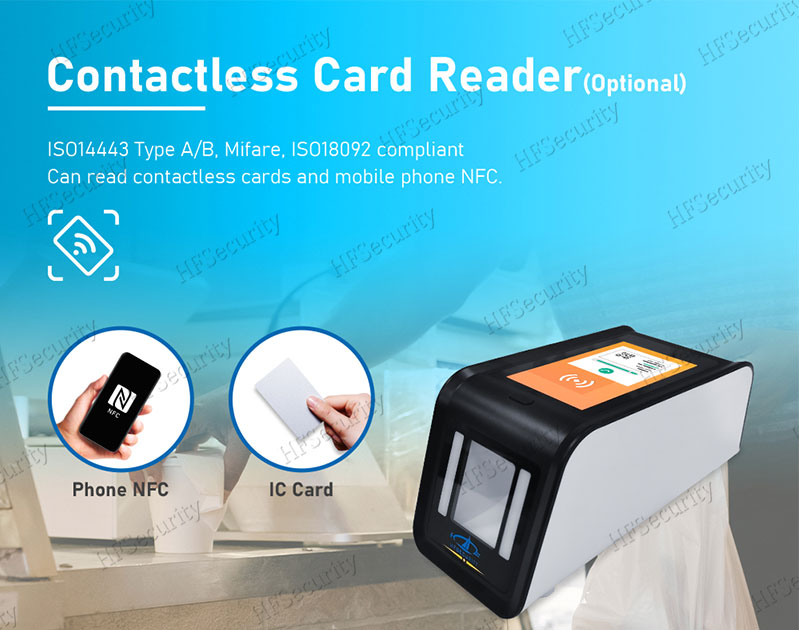 HFSecurity Contactless Health Code Scan Device